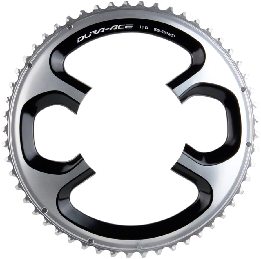 SHIMANO DURA-ACE 9000 39T X 110MM 11-SPEED BLACK BICYCLE CHAINRING  FOR 39//53T
