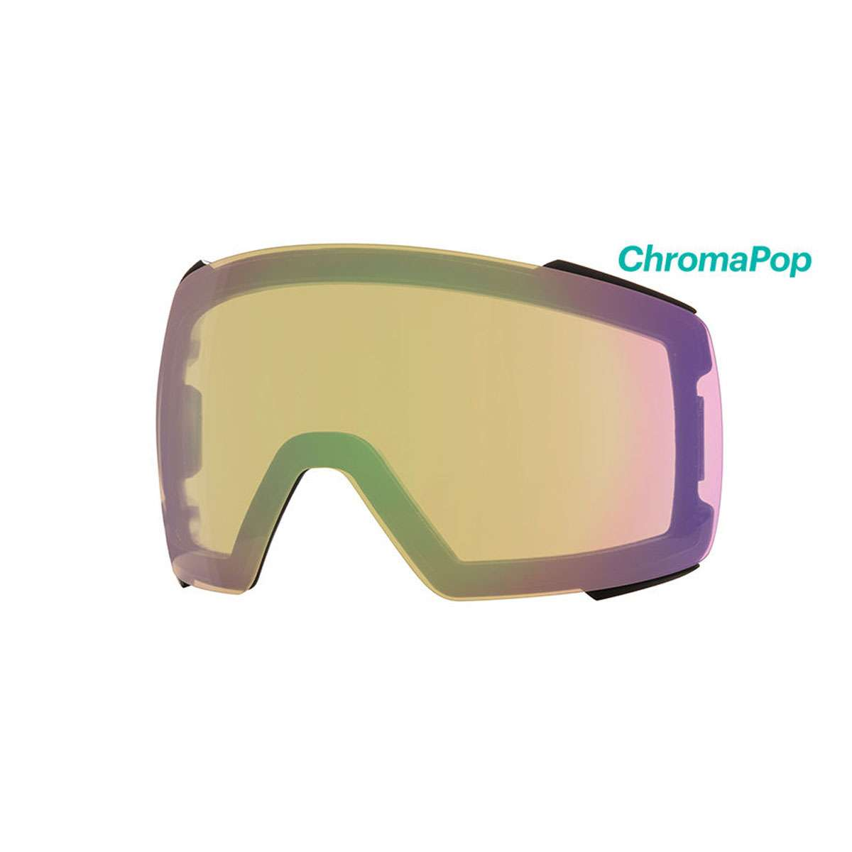 d497dd1dd2a9a Smith Optics I O MAG Ski Goggle - Replacement Lens - ChromaPop Storm Yellow  Flash - IM7CPY2