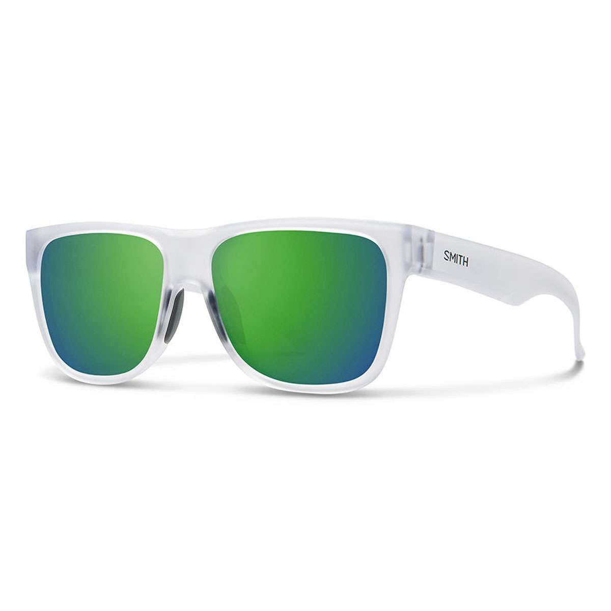 1f8669f69bd Smith Optics 2019 Men s Lowdown 2 Sunglasses - Matte Crystal Frame Green  Mirror Lens - 2009412M456Z9