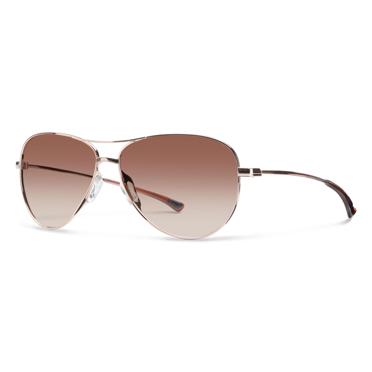 ce9c94e69b Smith Optics Langley Sunglasses - Rose Gold Frame Sienna Gradient Lens -  LAPCSNGRGD