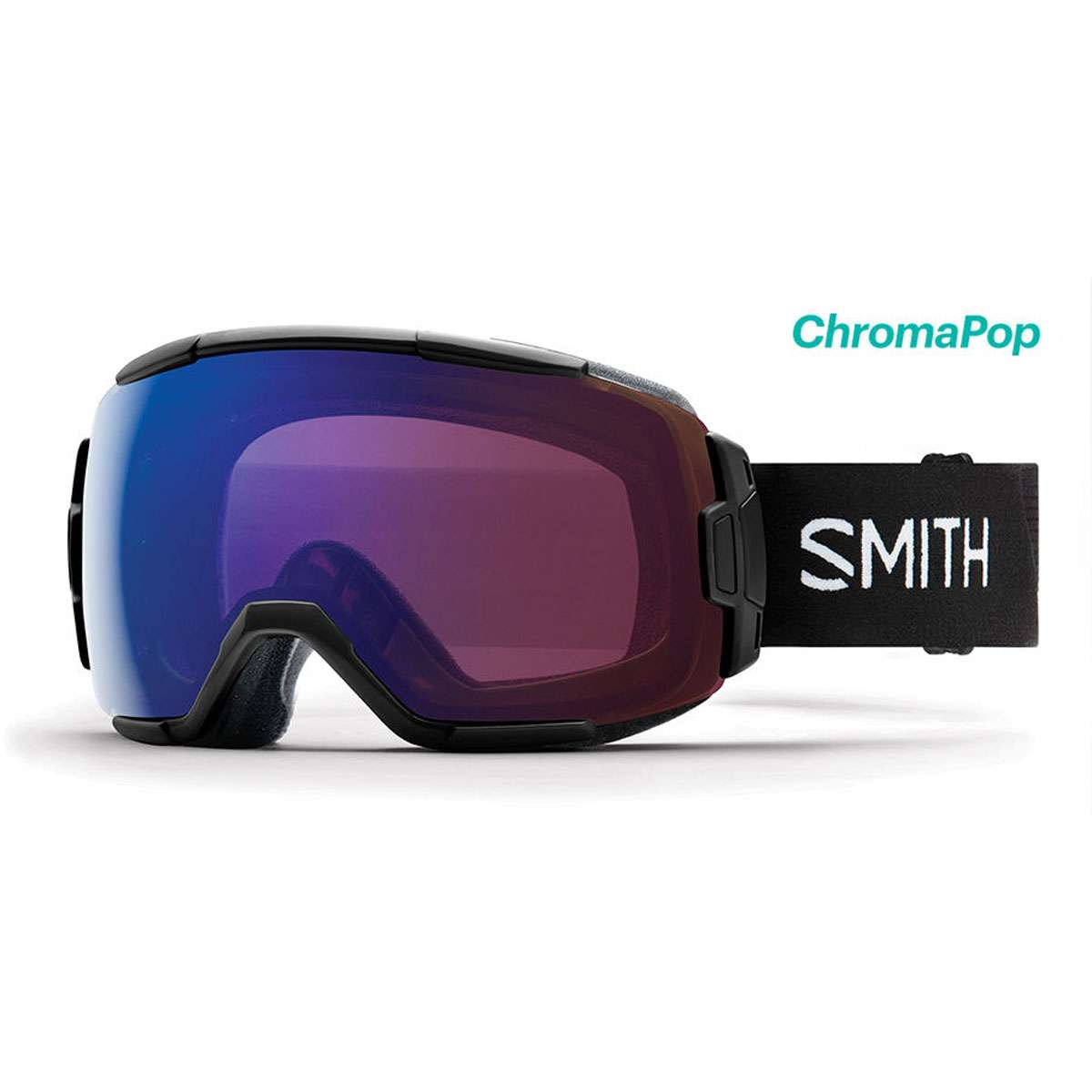 629caf127d96e Smith Optics 2019 Men s Vice Ski Goggle - Black Frame ChromaPop  Photochromic Rose Flash Lens - VC6CPZBK19