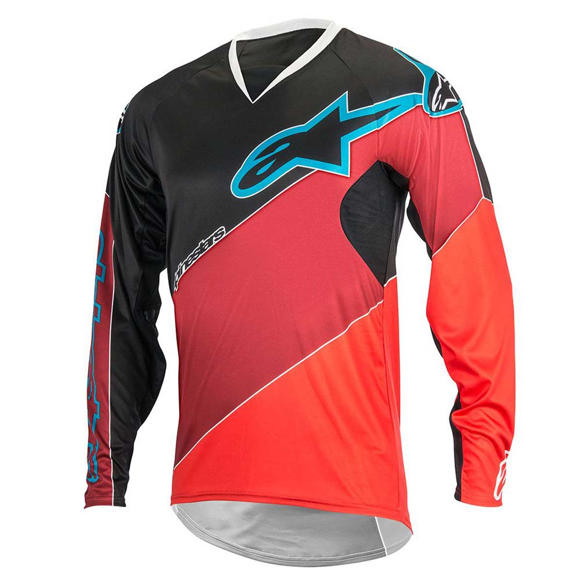 Alpinestars Black-red 2017 Vector Long Sleeved MTB Jersey M. About this  product. Picture 1 of 2  Picture 2 of 2 4c0697972