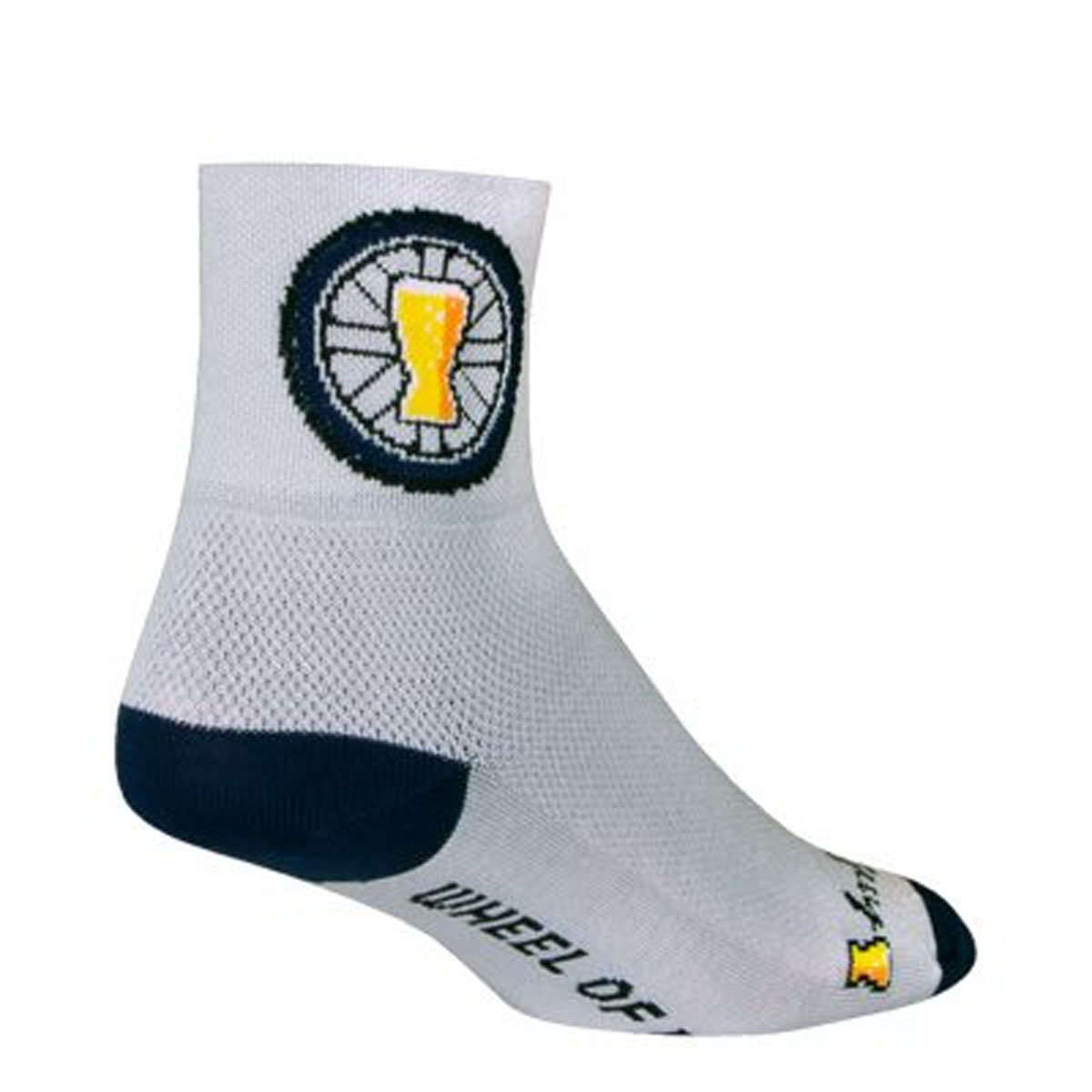 "Classic 3/"" Lion of Flanders L//XL Cycling//Running SockGuy Socks"