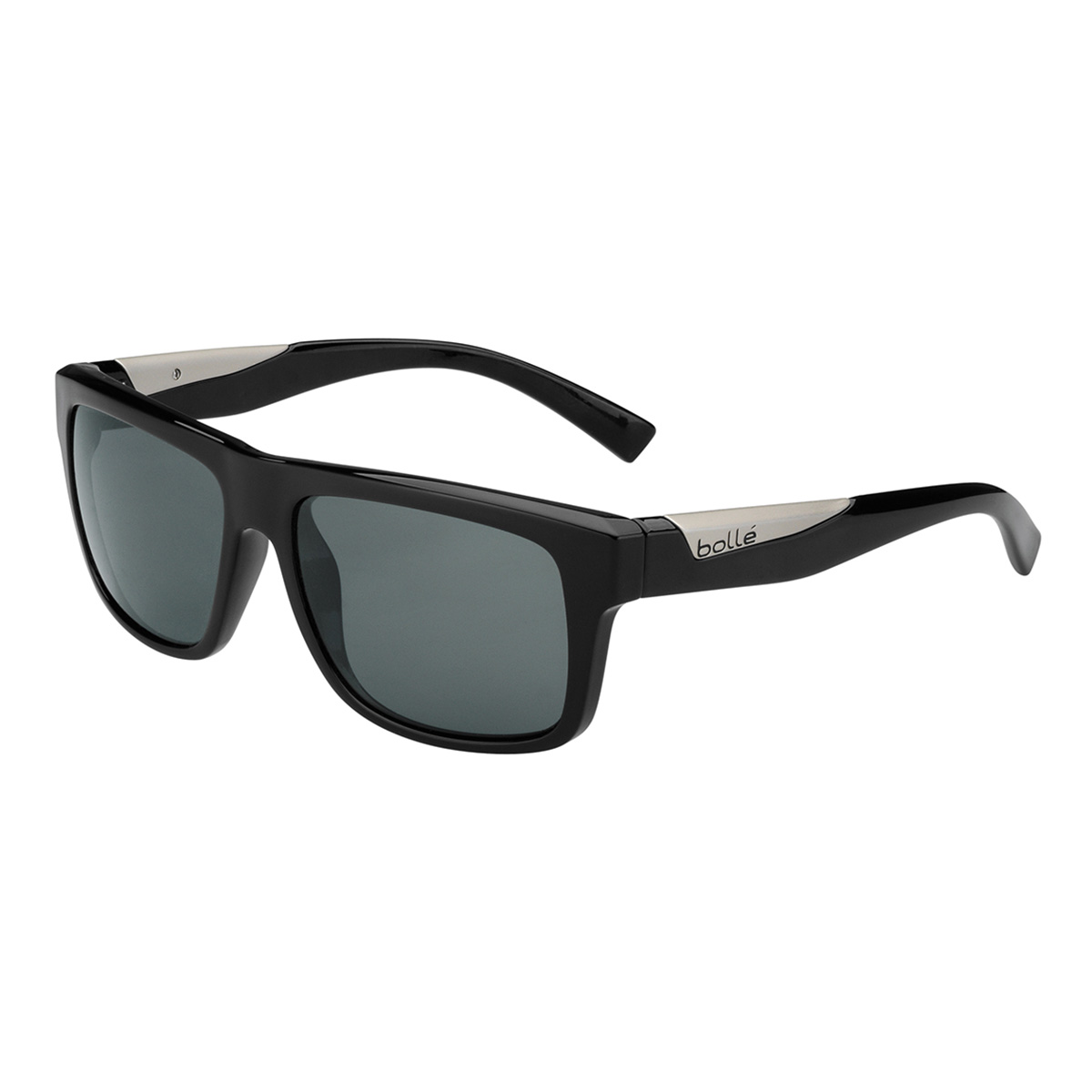0edccc459b Bolle 11826 Clint Shiny Black Polarized TNS Oleo AR 6 Base ...